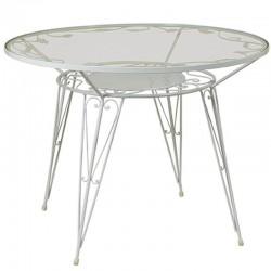 Τραπέζι με φύλλα Φ.90