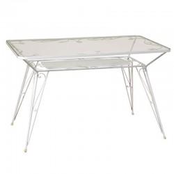 Τραπέζι με φύλλα 120x70