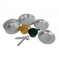 Σετ μαγειρέματος - φαγητού αλουμινίου 2 ατόμων