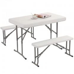 Τραπέζι Με Πάγκους 105x64