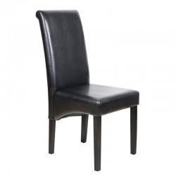Maleva-H Καρέκλα Ξύλινη PU...