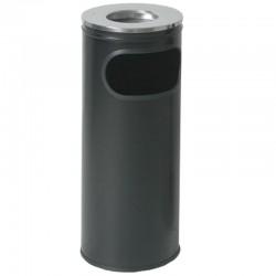 Σταχτοδοχεία δαπέδου INOX. Μαύρο, λευκό, 60cm x 23cm