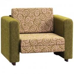 Ημίδιπλη πολυθρόνα κρεβάτι Lora