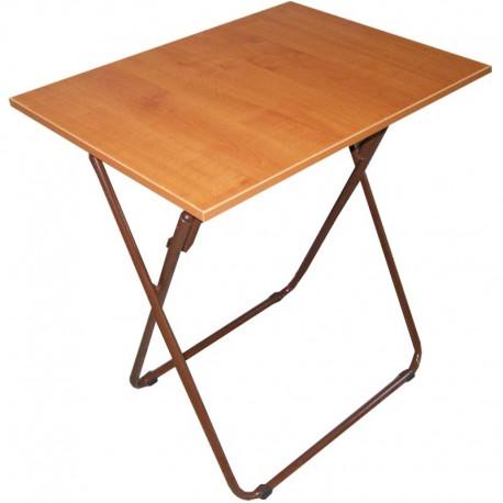 Τραπέζι Πτυσσόμενο Μεταλλικό Μελαμίνης 70x50x74εκ