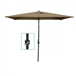 Μεταλλική ομπρέλα 180x270