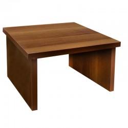 Υποπόδιο ξύλινο με σταθερό δάπεδο