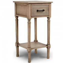 Wooden Bedside 37x26.5x69h