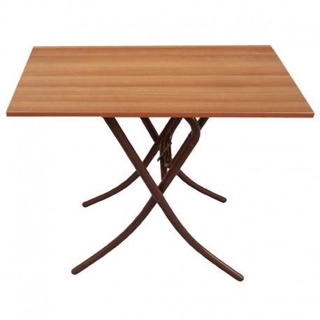 Τραπέζι Πτυσσόμενο Μεταλλικό Μελαμίνης 80x60x60/73.5εκ