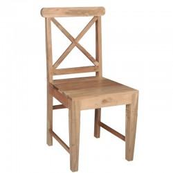 Kika Καρέκλα Ξύλινη 46x50x94εκ