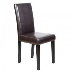 Maleva-L Καρέκλα Ξύλινη PU...